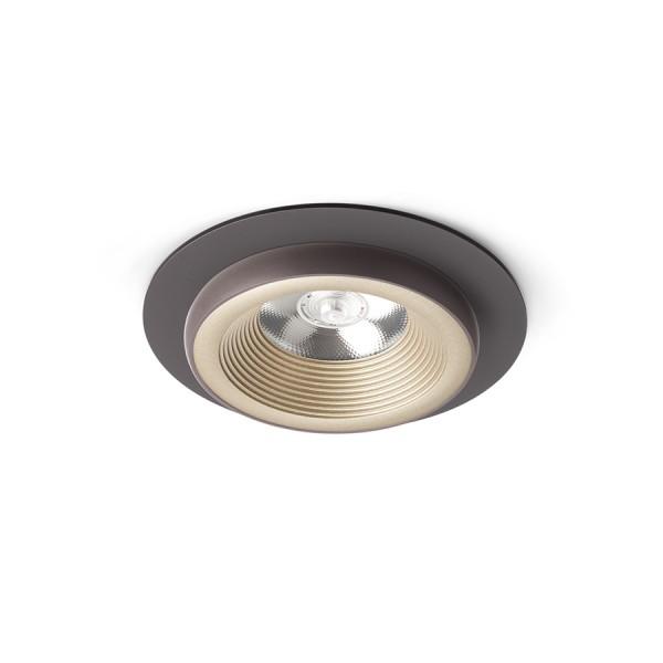 SHARM R I zápustná perlová zlatá/hnedá  230V LED 10W 24°  3000K