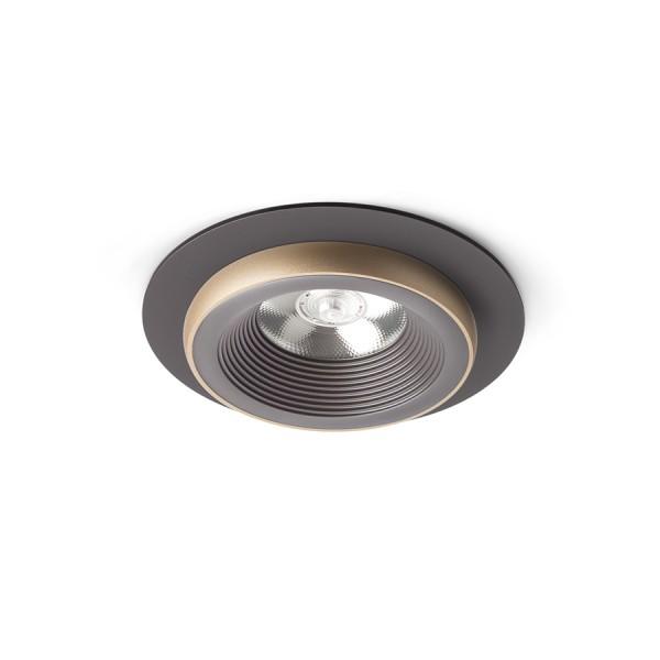 SHARM R I zápustná hnedá/perlová zlatá  230V LED 10W 24°  3000K