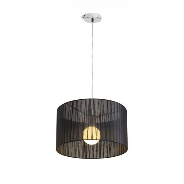 RENDL závěsné svítidlo GLAMOUR 35/20 závěsná černá 230V E27 28W R13271 1