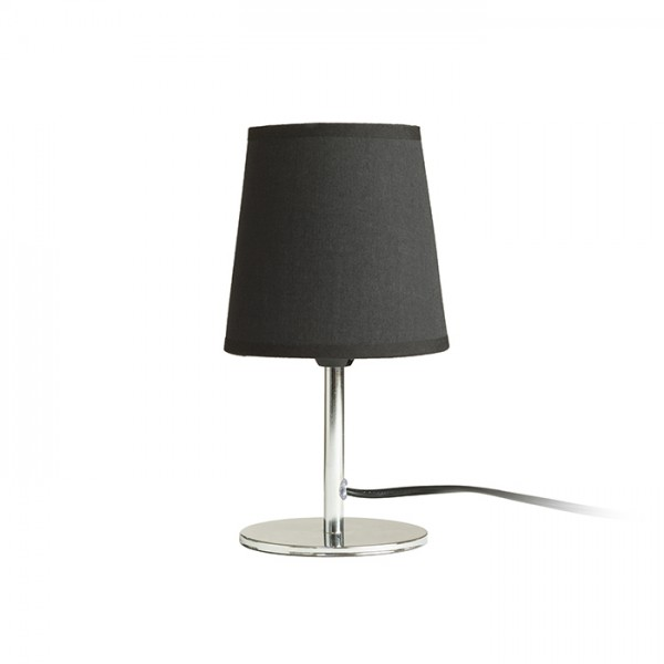 RENDL table lamp MINNIE table light black chrome 230V E14 15W R13274 1