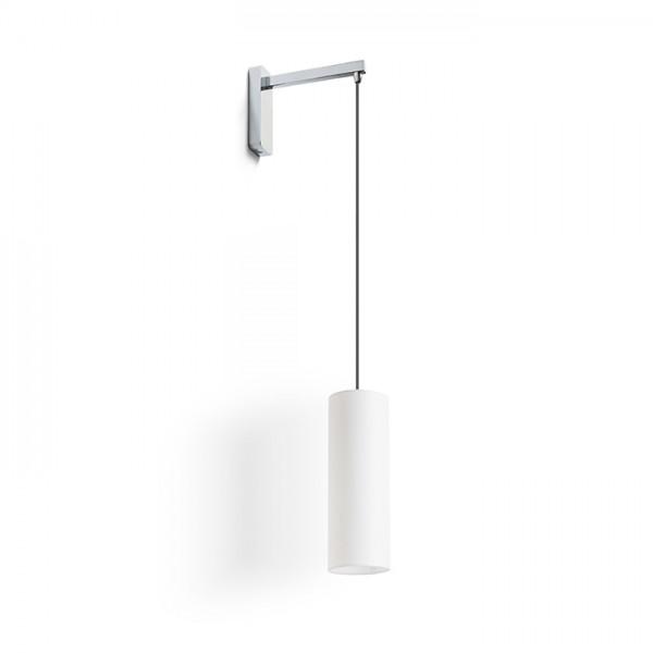 RENDL lámpara de pared HUDSON de pared blanco cromo 230V E27 28W R13284 1
