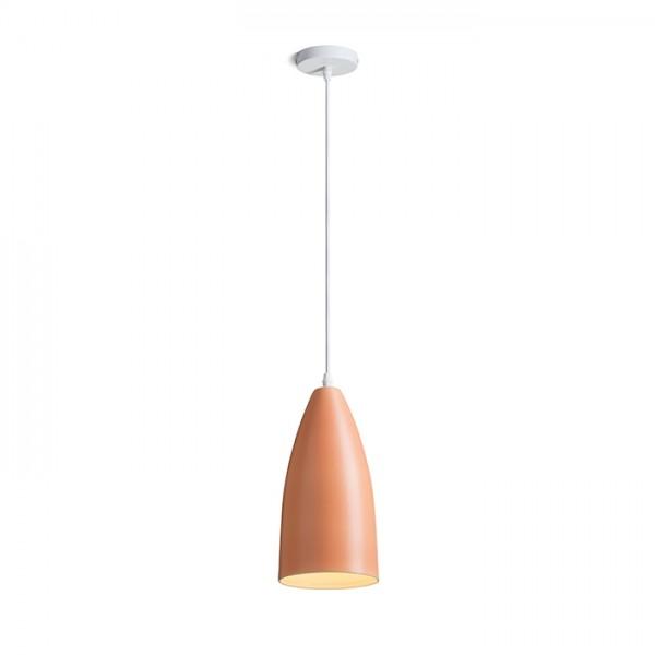 RENDL Viseća rasvjeta TUTTI viseća narančasta keramika 230V E27 15W R13289 1