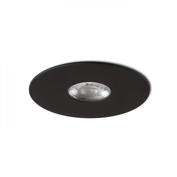 SPRAY 11 zápustná čierna  230V LED 9W 24°  3000K