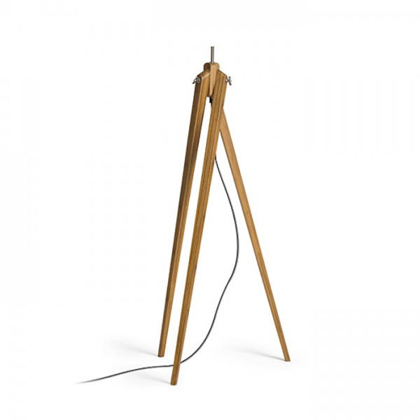 RENDL Pantallas y accesorios AMBITUS base lámpara de pie bambú 230V E27 28W R13304 1
