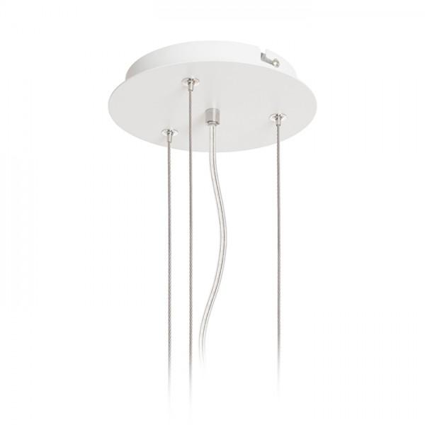 RENDL felületre szerelhető lámpatest MEZZO 40/60 függesztő készlet fehér 230V R13330 1