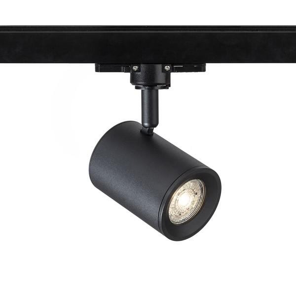 RENDL LED sínek és rendszerek CADENZA egy áramkörös sínre fekete 230V LED GU10 10W R13347 1
