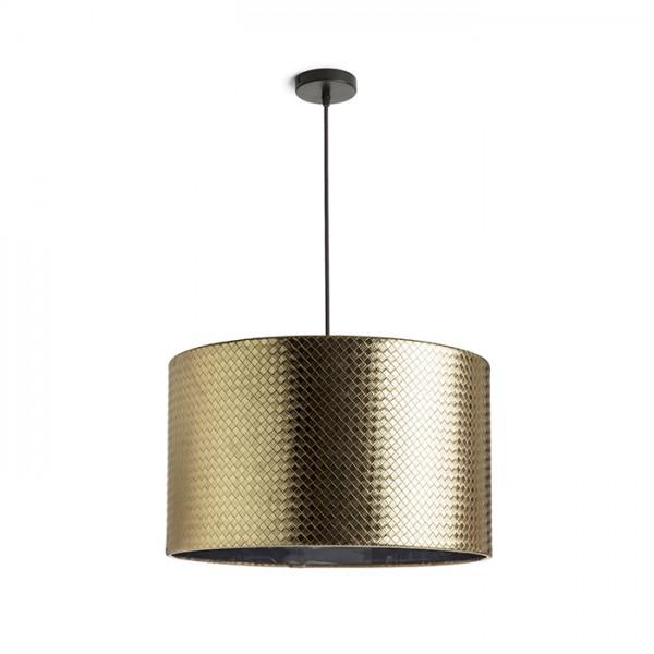 RENDL závěsné svítidlo EL DORADO 43 závěsná zlatá chromovaná fólie 230V E27 28W R13359 1
