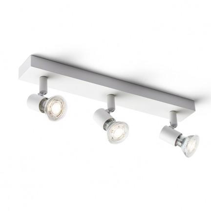 RENDL bodové světlo TRICA III nástěnná bílá 230V GU10 3x25W R13375 1