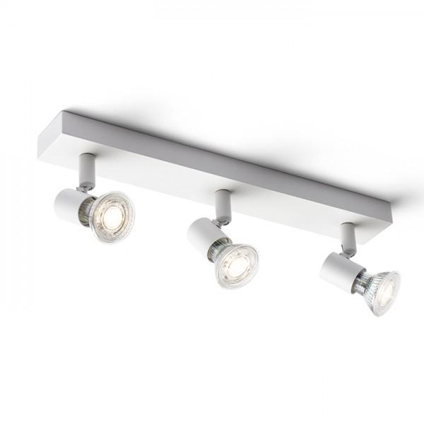 RENDL spotlight TRICA III wall white 230V GU10 3x25W R13375 1