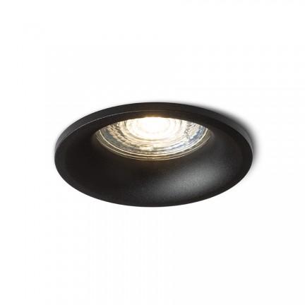 RENDL recessed light ZURI R recessed black 230V GU10 35W R13389 1