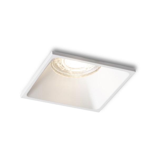 RENDL luz empotrada ZURI SQ empotrado blanco 230V GU10 35W R13390 1