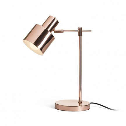 RENDL table lamp GUACHE table copper 230V E27 11W R13392 1