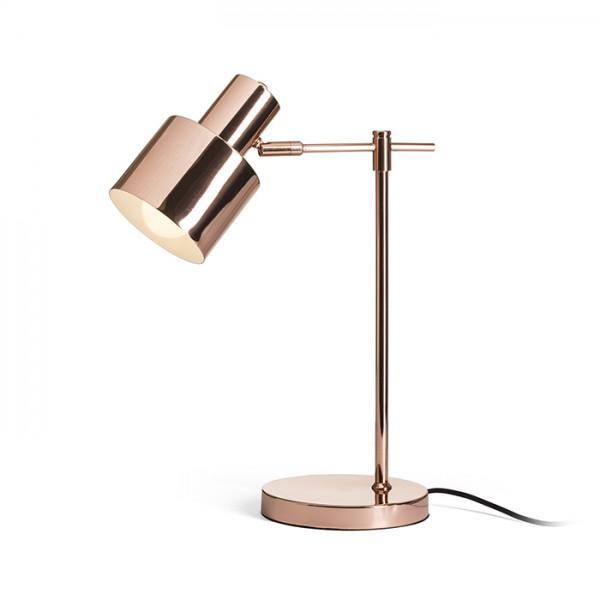 RENDL table lamp GUACHE table copper 230V E27 11W R13392 1