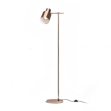 RENDL floor lamp GUACHE floor light copper 230V E27 20W R13393 1