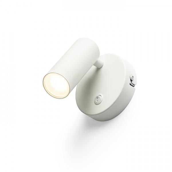 RENDL spotlicht TAPIO I R wandlamp wit 230V LED 4.5W 3000K R13424 1