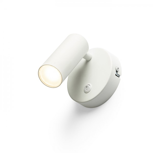 RENDL spot lámpa TAPIO I R fali lámpa fehér 230V LED 4.5W 3000K R13424 1