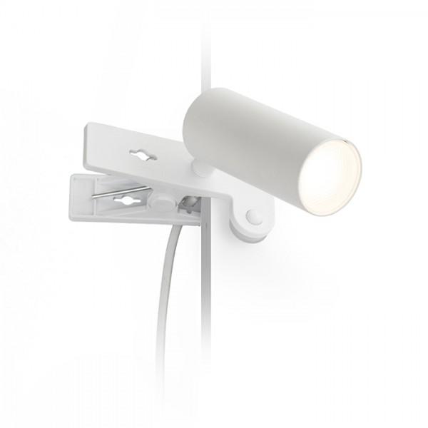 RENDL reflektor TAPIO na klipu bijela 230V LED 4.5W 3000K R13426 1