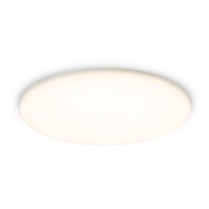 RENDL upotettava valaisin BELI R 21 upotettava valkoinen akryyli 230V LED 27W IP65 3000K R13432 1