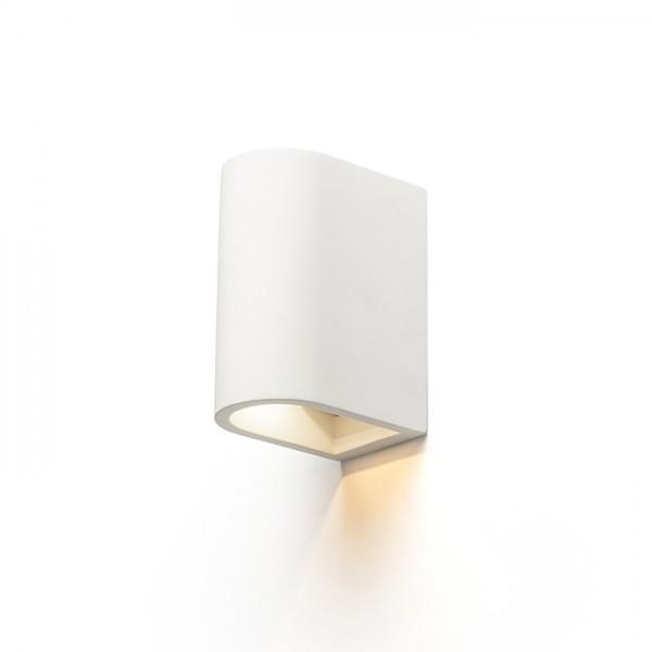 RENDL lámpara de pared BODIE aplique de pared yeso 230V LED 2x3W 3000K R13433 1