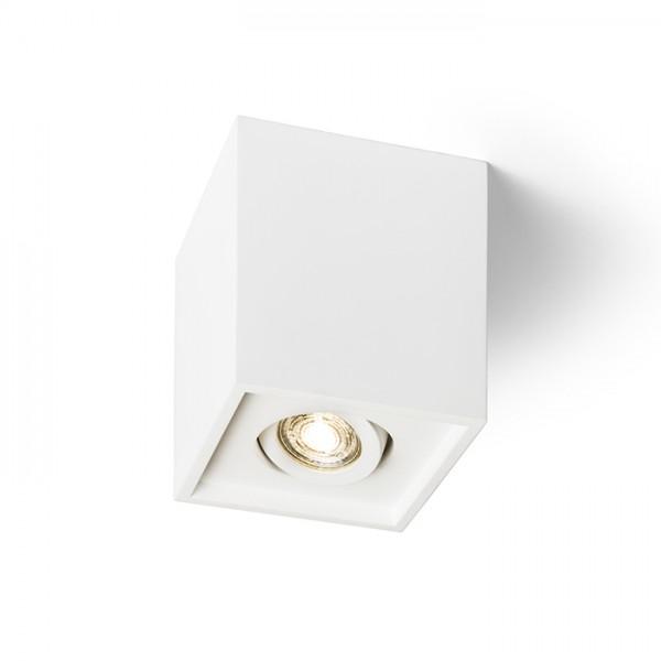 RENDL lámpara de techo COLES SQ aplique de techo yeso 230V LED GU10 15W R13438 1