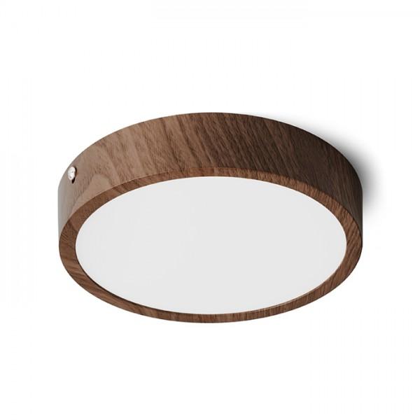 RENDL přisazené svítidlo HUE R 17 DIMM stropní dekor tmavý ořech 230V LED 18W 3000K R13444 1