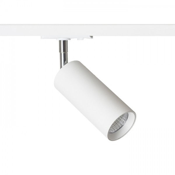 RENDL LED-bånd og systemer MAVRO DIMM for 1-faset skinne hvid 230V LED 12W 38° 3000K R13446 1
