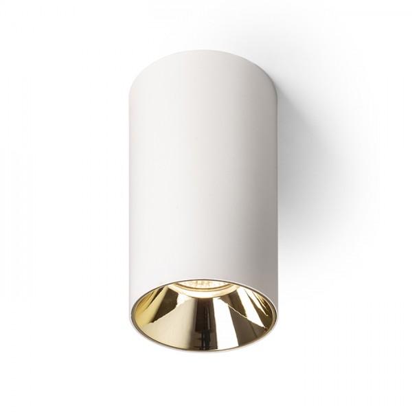 RENDL opbouwlamp CANTO plafondlamp zonder sierring wit 230V LED GU10 8W R13471 1
