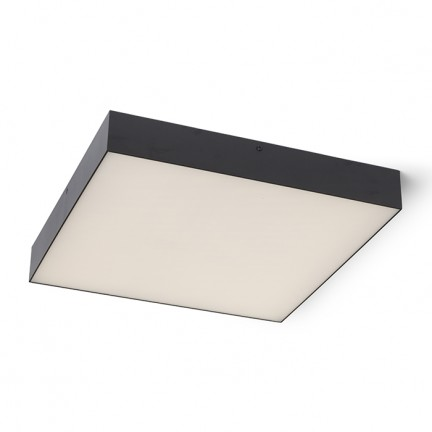 RENDL surface mounted lamp LARISA SQ 40 ceiling black 230V LED 50W 3000K R13490 1