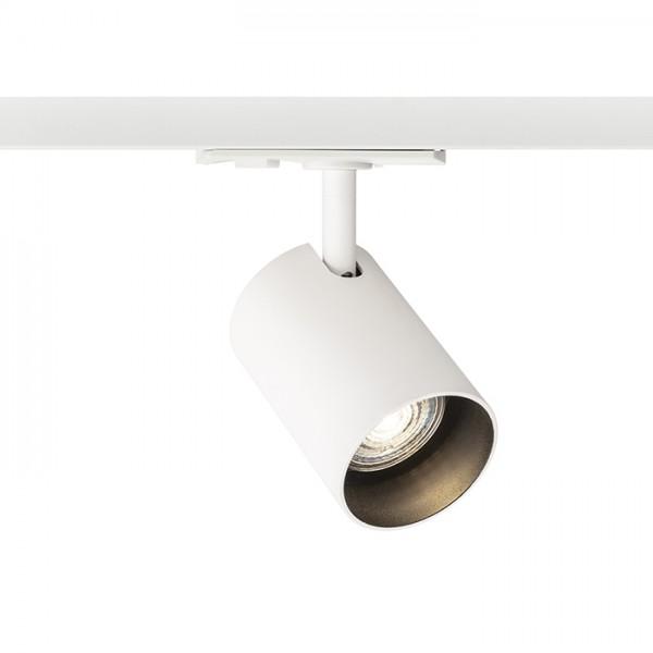 RENDL tiras y sistemas LED CONNOR para carril monofásico blanco/negro 230V LED GU10 10W R13497 1