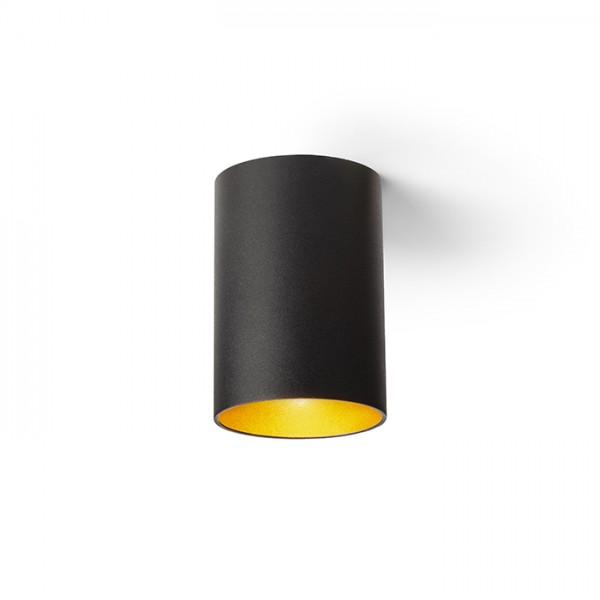 CONNOR stropná čierna/zlatá  230V LED GU10 10W