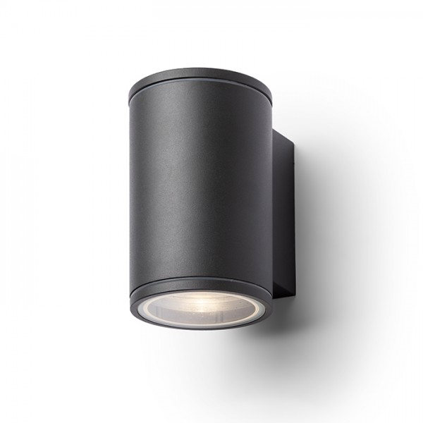 RENDL outdoor lamp LIZZI I wall anthracite grey 230V GU10 35W IP54 R13508 1