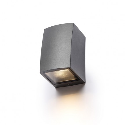 RENDL outdoor lamp SELMA wall anthracite grey 230V GU10 35W IP54 R13515 1