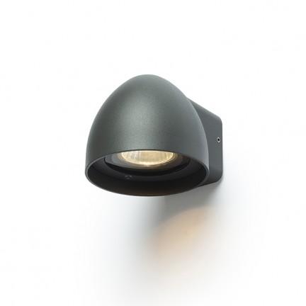 RENDL buiten lamp BOURDON wandlamp antracietgrijs 230V GU10 35W IP54 R13559 1