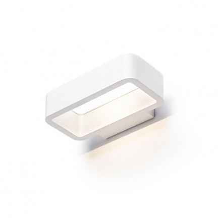 RENDL luminaria de exterior TAPA pared blanco 230V LED 6W IP54 3000K R13562 1