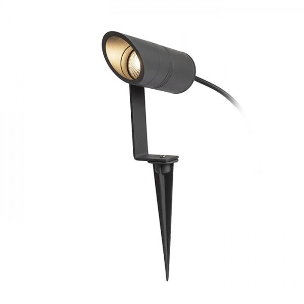 RENDL luminaria de exterior LORCA en espiga gris antracita 230V LED 5W IP65 3000K R13568 1