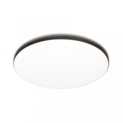 RENDL luz empotrada BJORK R 16 empotrado negro 230V LED 12W 3000K R13585 1