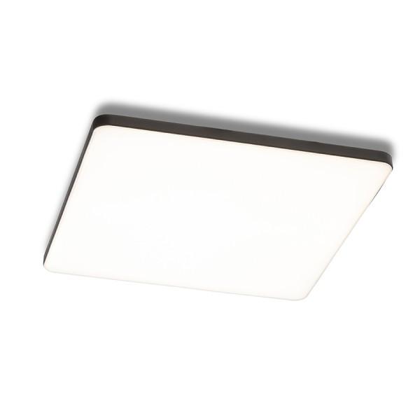 RENDL lumină de podea BJORK SQ 20 incastrat negru 230V LED 18W 3000K R13591 1