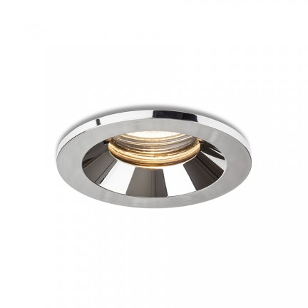 RENDL recessed light BELLA GU10 recessed chrome 230V LED GU10 15W IP65 R13600 1