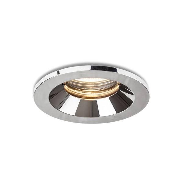 RENDL вградена лампа BELLA GU10 zápustná chrom 230V LED GU10 15W IP65 R13600 1