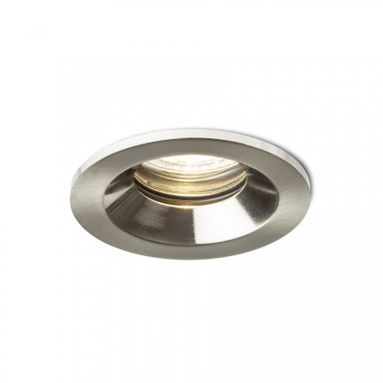 RENDL recessed light BELLA GU10 recessed matt nickel 230V LED GU10 15W IP65 R13601 1