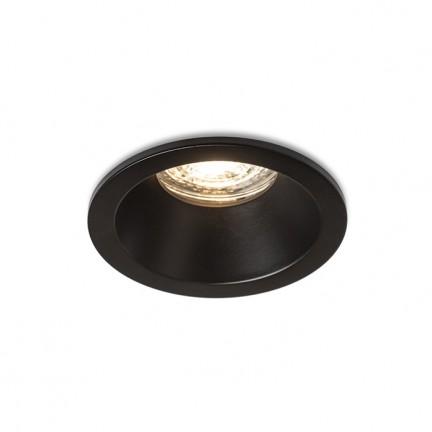RENDL luz empotrada BERMUDA empotrado negro 230V GU10 35W IP65 R13604 1