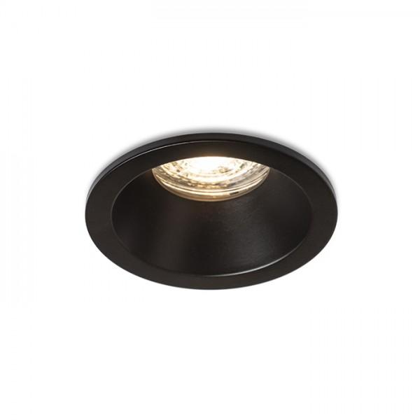 RENDL Ugradbena svjetiljka BERMUDA ugradbena crna 230V GU10 35W IP65 R13604 1