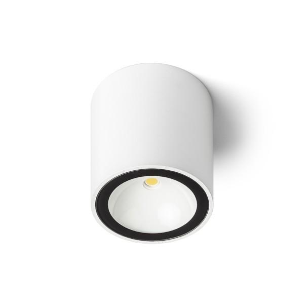 SENZA R stropná biela číre sklo 230V LED 6W IP65  3000K