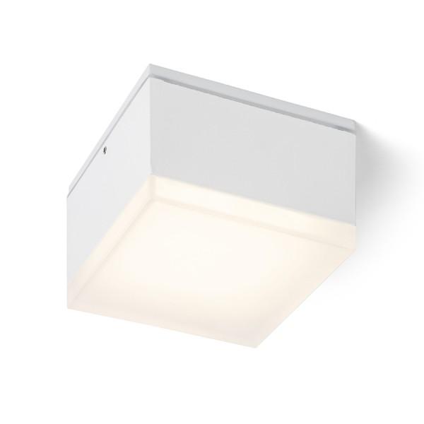 ORIN SQ stropná biela satinovaný akrylát 230V LED 10W IP54 3000K