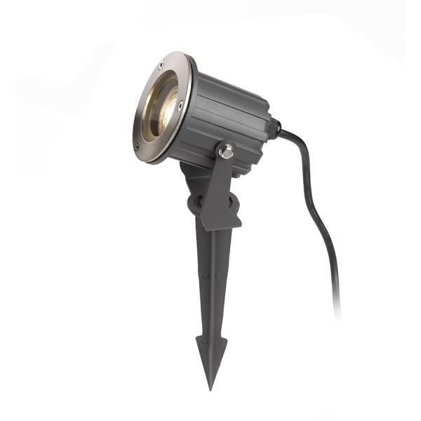 RENDL venkovní světlo BLUESTAR na bodci antracitová 230V GU10 35W IP65 R13630 1