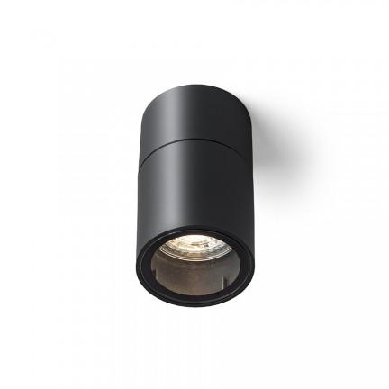 RENDL lumină de exterior SORANO de tavan negru plastic 230V LED GU10 8W IP44 R13633 1