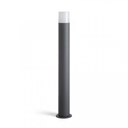 RENDL outdoor lamp BONNIE 80 bollard anthracite grey 230V E27 28W IP44 R13636 1