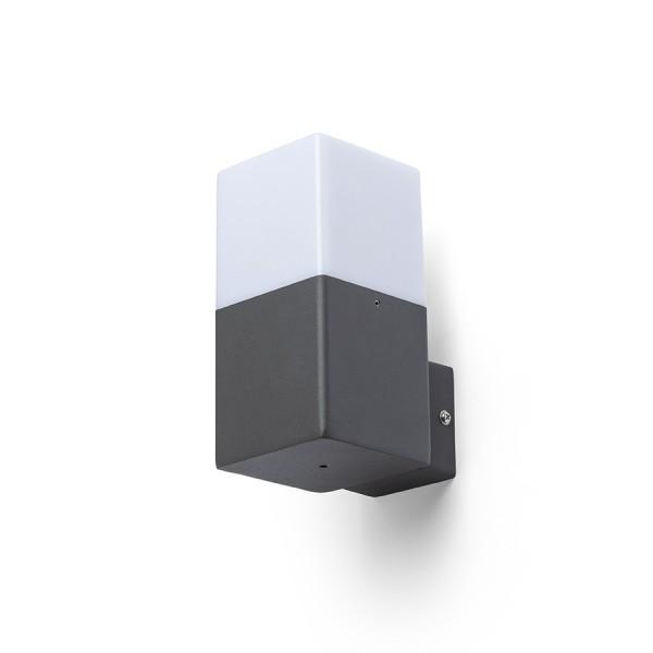 RENDL udendørslampe CLYDE væg antracitgrå 230V E27 28W IP44 R13637 1