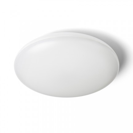 RENDL surface mounted lamp SASSARI ceiling white polycarbonate/plastic 230V LED 24W IP65 3000K R13642 1