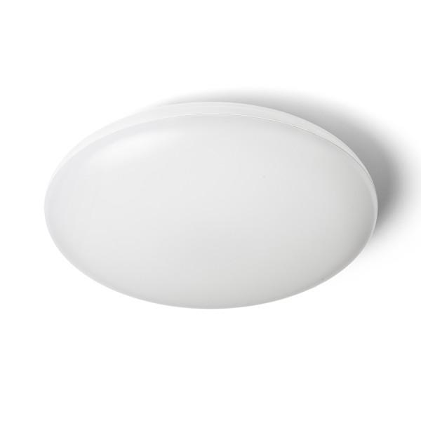 RENDL surface mounted lamp SASSARI ceiling white polycarbonate/plastic 230V LED 24W IP65 3000K R13642 1